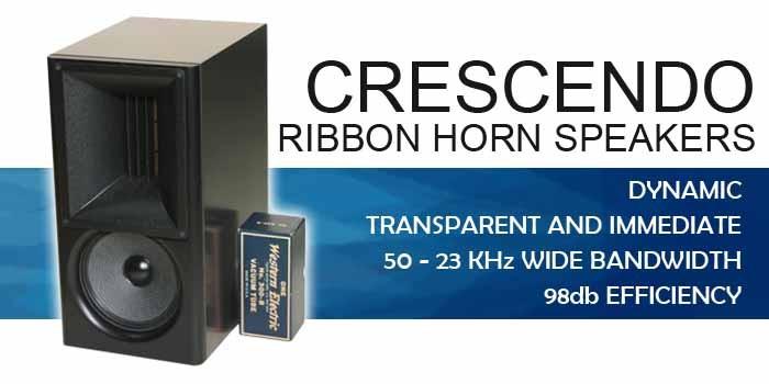 crescendo speaker